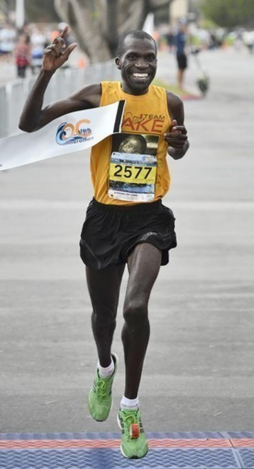 Ayieni repeats at OC Marathon
