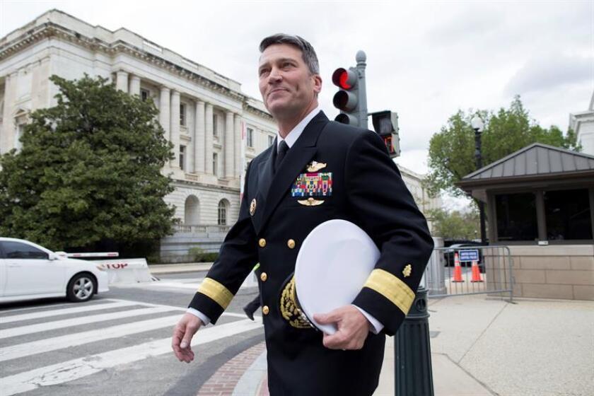 El almirante de la Marina estadounidense Ronny Jackson. EFE/Archivo