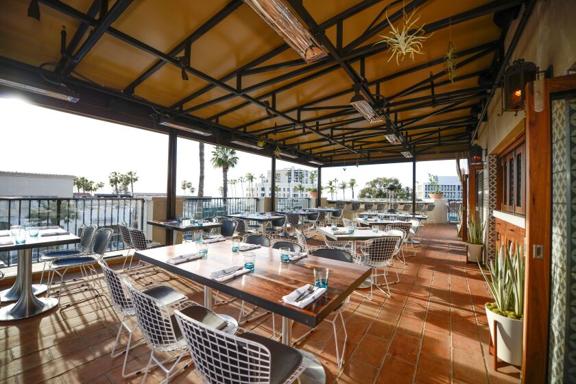 Catania, in La Jolla, is part of the Whisknladle Hospitality Group.