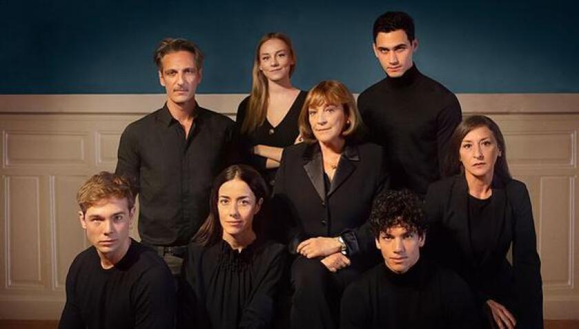 El elenco de la serie que se estrena pronto.