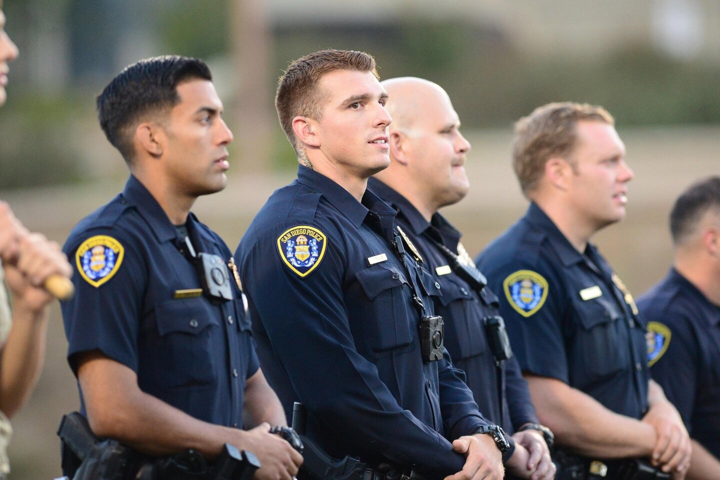 TPHS honored local San Diego Police Department officers.