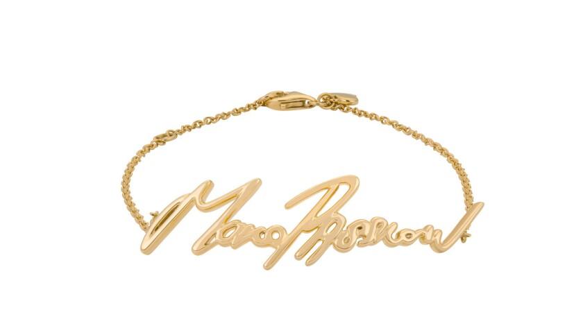 Stephen Webster + Tracey Emin 18-karat yellow gold More Passion bracelet, $