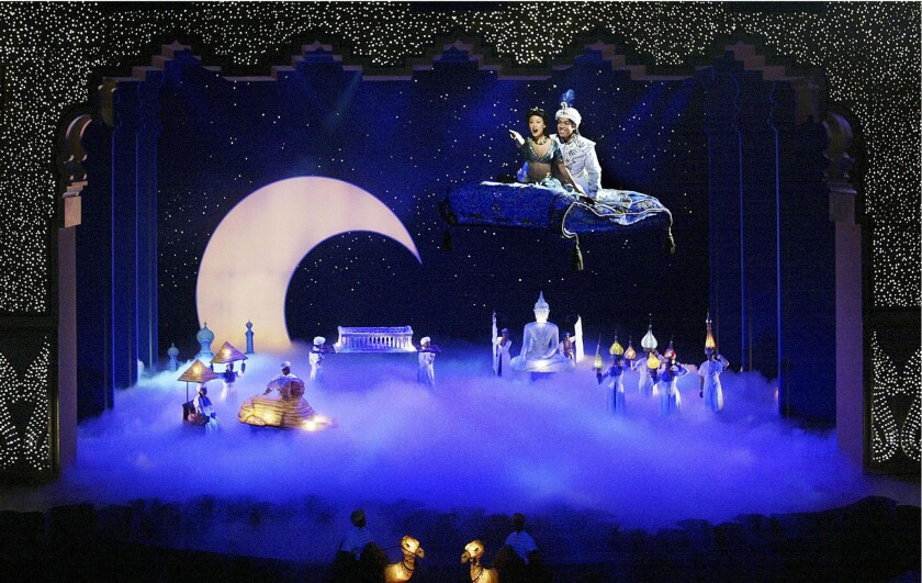 """The """"Aladdin"""" musical at Disney California Adventure comes to an end Jan. 10 after a 13-year run."""