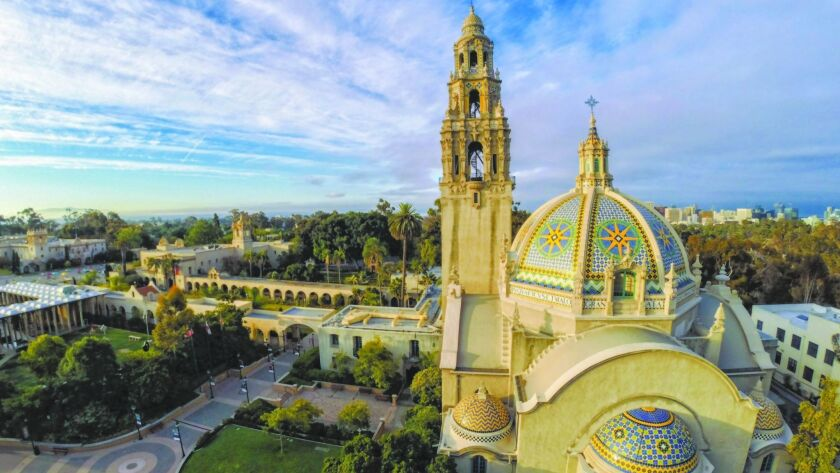 July 12th, 2015, San Diego, CALIFORNIA, USA. -------- | Overall view of Balboa Park and the Californ