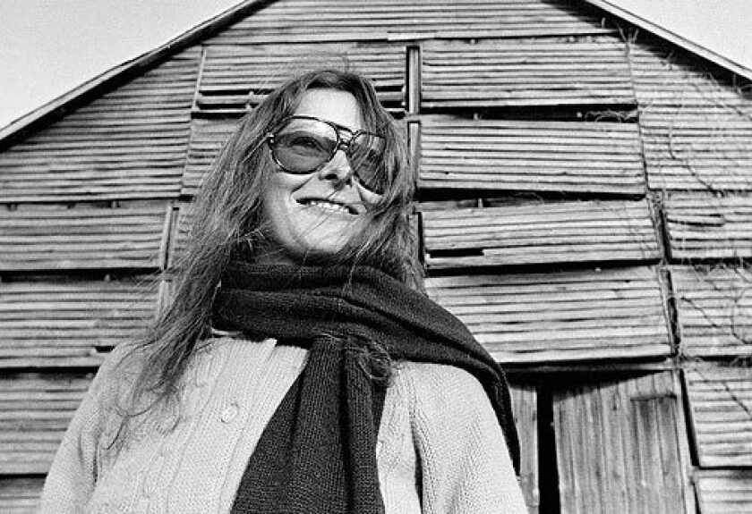 Roxanna Brown, 27, during a visit to Port Tobacco, Maryland in 1973. She briefly dated the photographer, Pulitzer prize winner David Hume Kennerly, during the Vietnam War. They stayed friends for years. More photos >>>