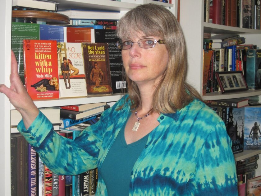"""Bookstore owner Maryelizabeth Hart is the editor of """"San Diego Noir."""""""