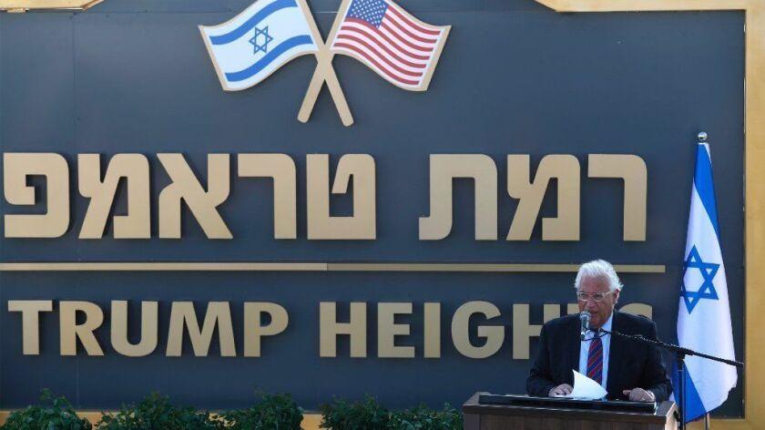 Israeli PM Netanyahu will seek Cabinet approval to build a new settlement on the Golan Height, Bruchim-Kela Alon - 16 Jun 2019