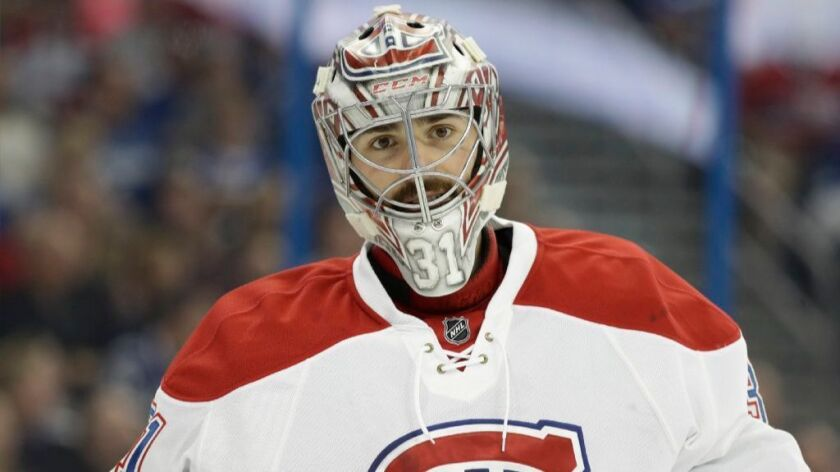 Montreal goaltender Carey Price had 37 wins with a save percentage of .923.