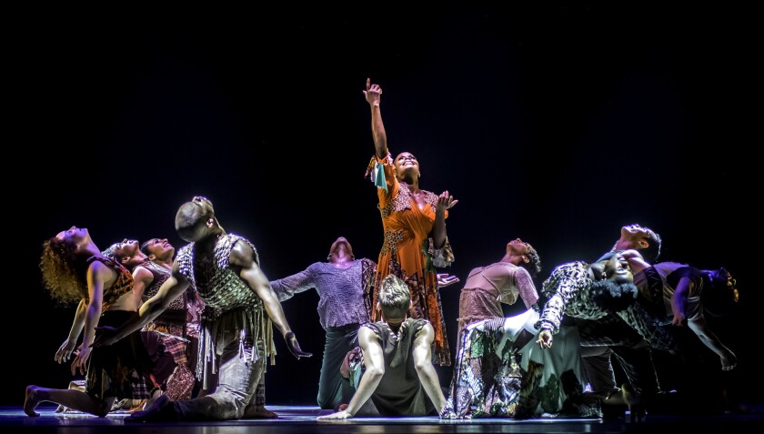 """""""Odetta"""" makes its Segerstrom debut when the Alvin Ailey American Dance Theater visits the Costa Mesa venue with multiple programs of premieres and classics."""