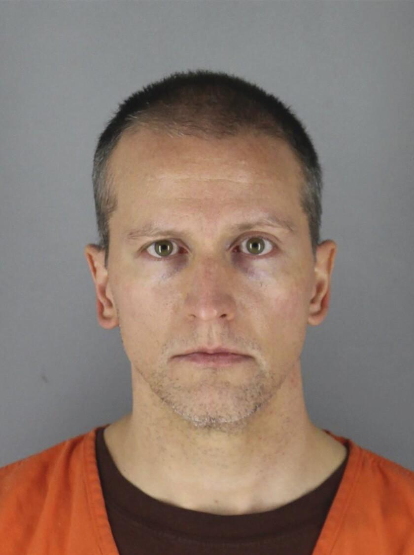 Former Minneapolis police officer Derek Chauvin is accused of second-degree murder