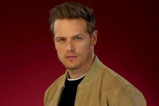 'Outlander's' Sam Heughan dishes about his snacks-stealing costar