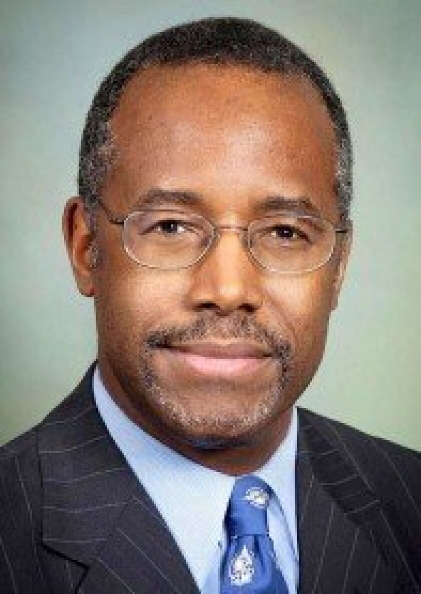 Dr. Benjamin Carson Photo courtesy of http://wildfirewire.com/wp-content/uploads/2013/03/Dr-Ben-Carson.jpg