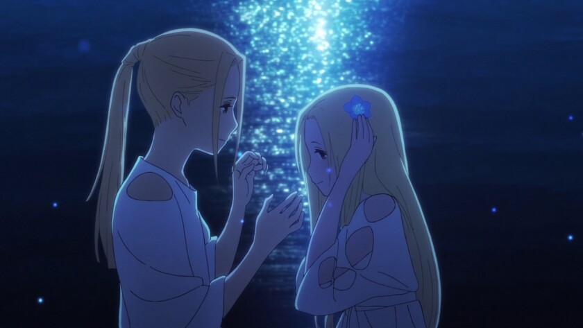 "A scene from the animated film ""Maquia: When the Promised Flower Blooms."" Credit: Eleven Arts"