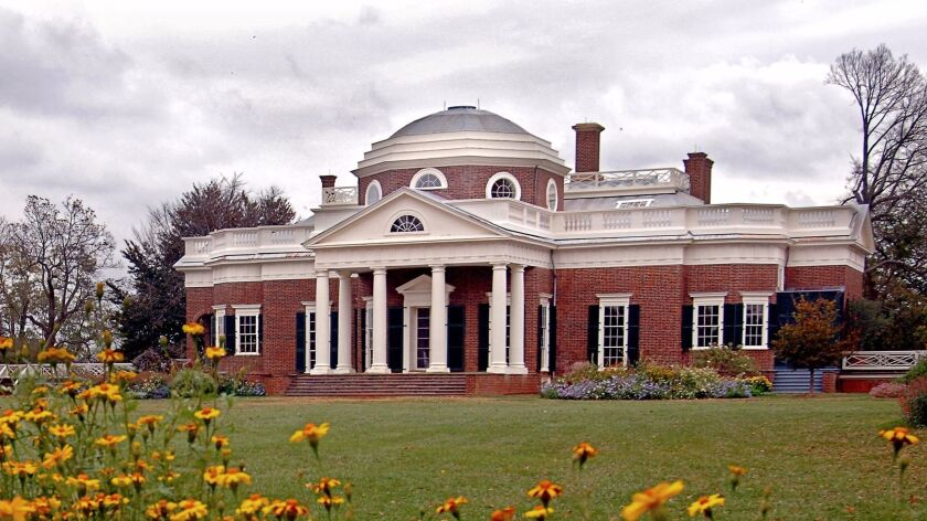 Thomas Jefferson died at his beloved Monticello estate in Virginia on July 4, 1826.