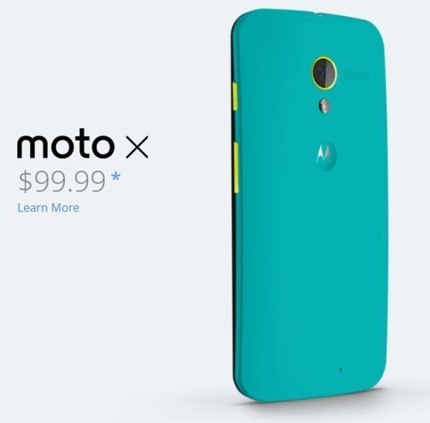 Motorola's Moto X looks much more attractive after $100