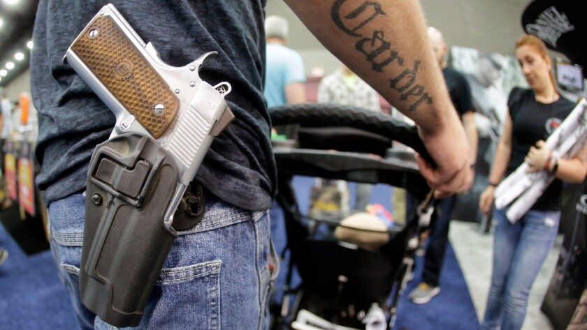 Op-Ed: Even in the Wild West, there were rules about carrying concealed weapons