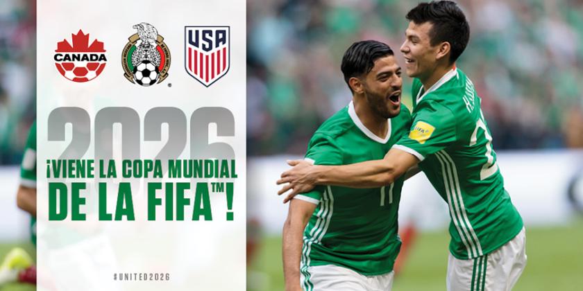 Así celebró la selección mexicana la designación de México como sede de la Copa del Mundo 2026.