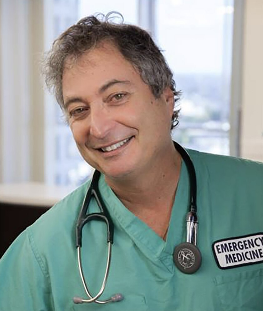 The Dr. living in Laguna Beach Eric Alcouloumre is an emergency doctor at Hoag Hospital Newport Beach.