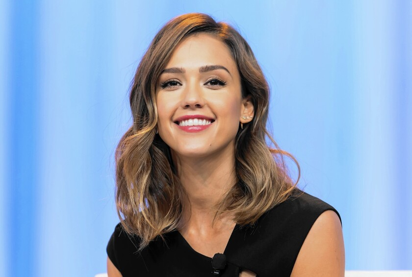 Jessica Alba says a workout with friends can be like meditation.