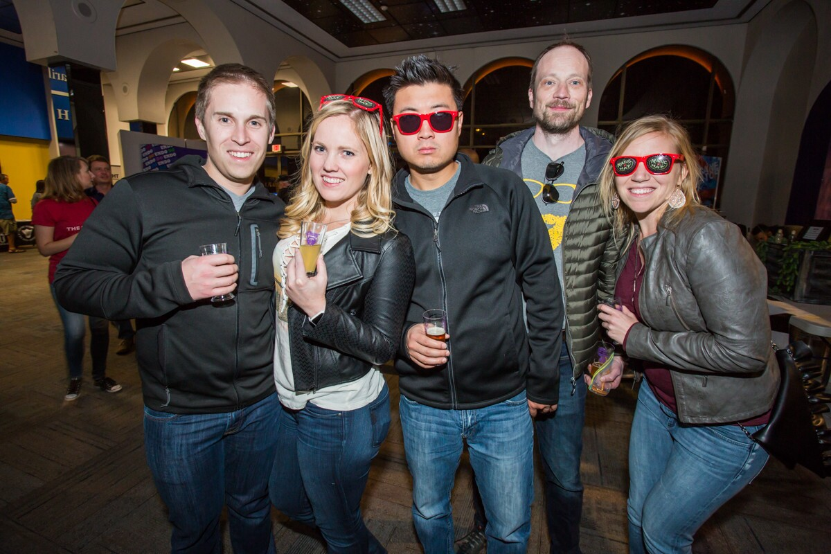 San Diegans raised a glass (or two) at the San Diego Winter Brew Fest at Balboa Park on Saturday, Feb. 24, 2018.