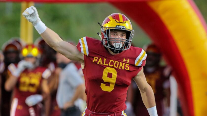 Running back Mac Bingham helped Torrey Pines earn the top seed in the Open Division.
