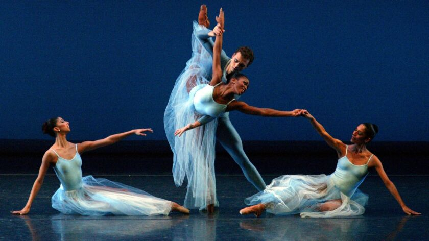 The Dance Theatre of Harlem will perform at the Irvine Barclay Theatre on April 18.