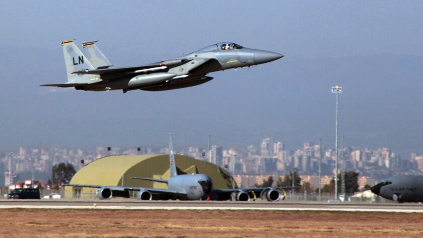 The Incirlik Air Base, located in southern Turkey, reportedly hosts one of the largest stockpiles of nuclear weapons in Europe.
