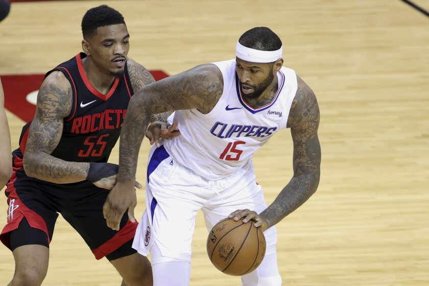 Clippers set to sign DeMarcus Cousins through end of season - Los Angeles Times