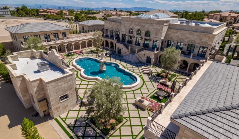 Floyd Mayweather's Las Vegas compound