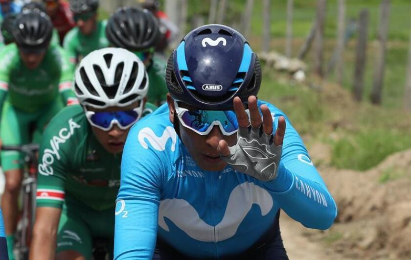 El ciclista colombiano Nairo Quintana. EFE/Archivo