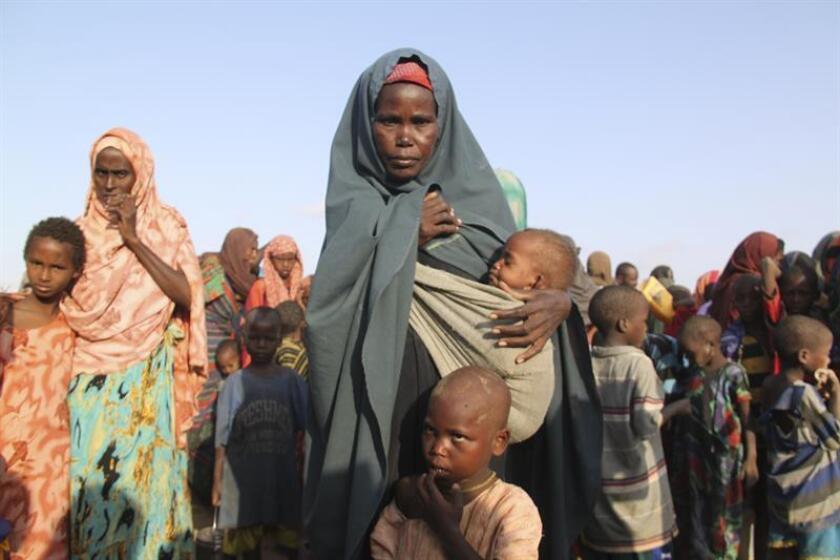Los niños son las víctimas principales de la trata de personas, con alrededor del 28 por ciento en el mundo, pero en sitios como África Subsahariana y Centroamérica y el Caribe puede alcanzar cifras alarmantes de 64 y 62 por ciento, respectivamente. EFE/Archivo