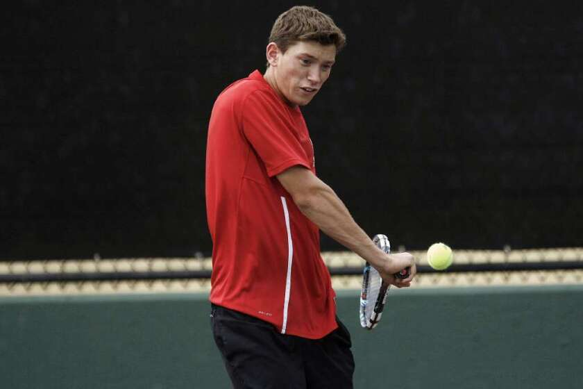 Boys' tennis teams adjusting to early season starts