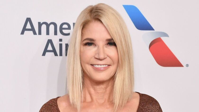 Writer Candace Bushnell attends the Elton John AIDS Foundation's 17th Annual An Enduring Vision Benefit at Cipriani on Nov. 5, 2018 in New York City.