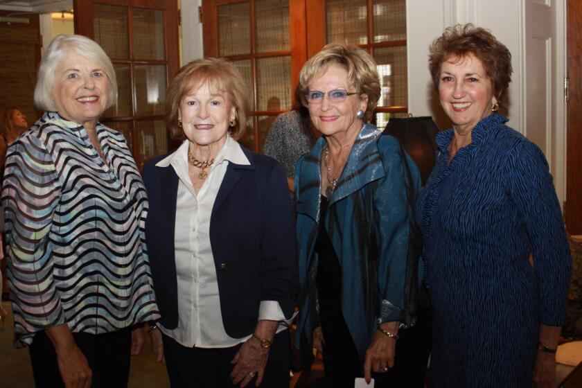 Marge Palmer, Dixie Unruh, Barbara Doren and Carolyn Boline