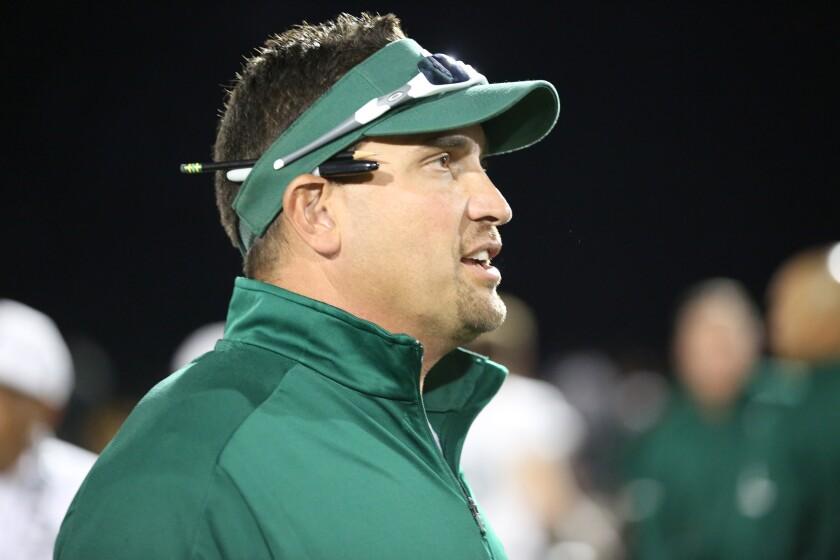 Helix High School football head coach Robbie Owens.