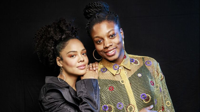 Tessa Thompson And Little Woods Director Nia Dacosta Are Breaking Down Hollywood Barriers Los Angeles Times