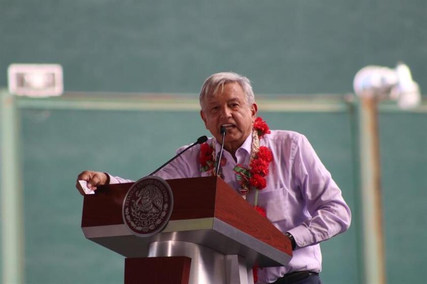 En la imagen, el presidente de México, Andrés Manuel López Obrador. EFE/Archivo