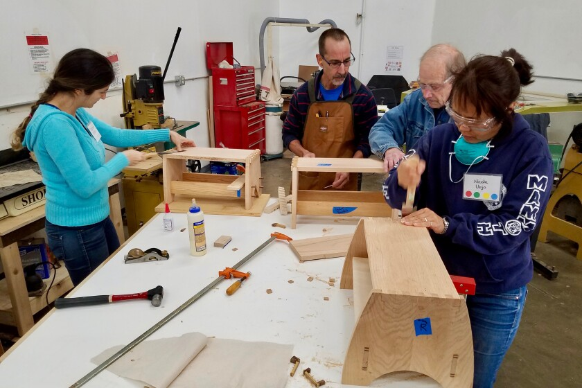 San Diego Fine Woodworkers Association Branching Out The