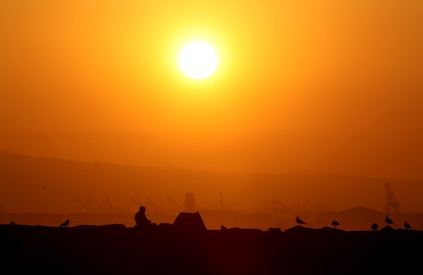 Los Angeles County recorded its all-time record high temperature over the Labor Day weekend.