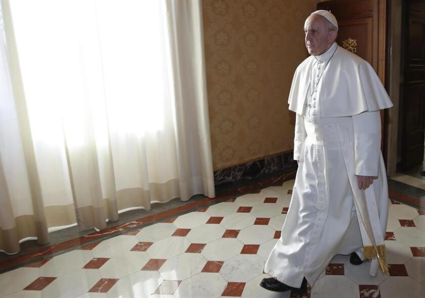 El papa Francisco este viernes. EFE