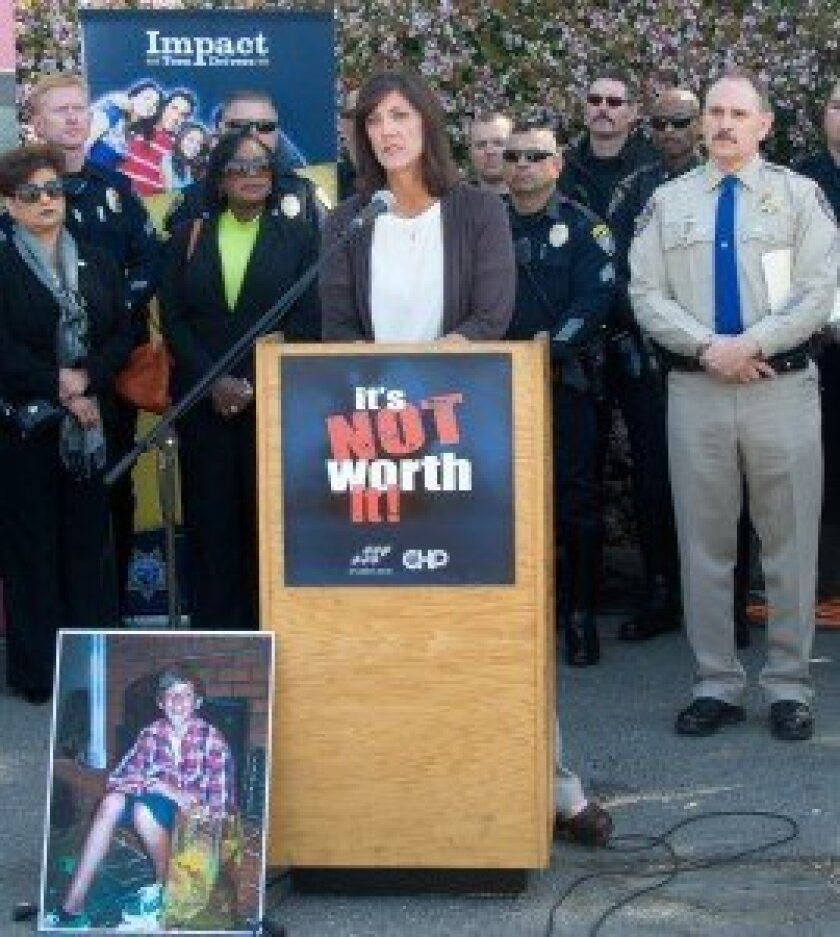 Leeana Clegg lost her son Hunter in a distracted driving accident