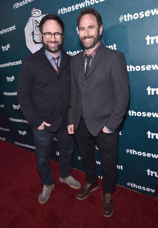 Comedians Jason Sklar (left) and Randy Sklarmake up the comedy duo The Sklar Brothers.