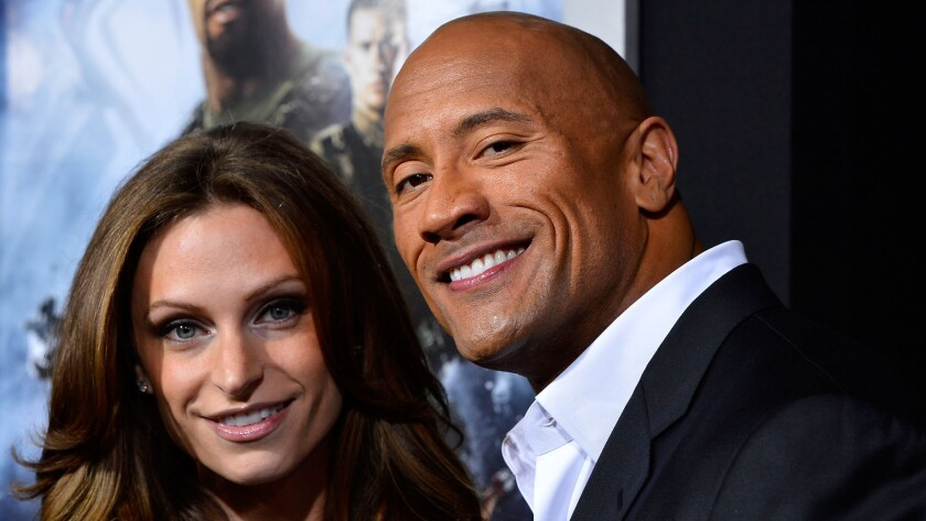 Lauren Hashian, Dwayne Johnson