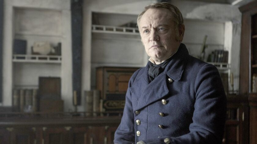 """The Terror,"" an AMC series, stars Jared Harris as Francis Crozier."