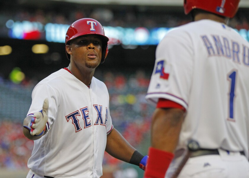 Third baseman Adrian Beltre, 37, continues to deliver for the Texas Rangers