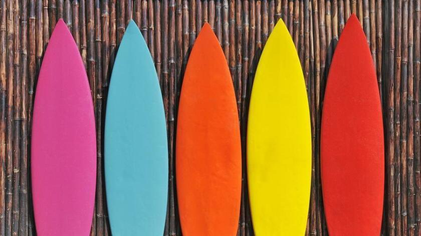 This Christmas, give yourself or a loved one the gift of Santa's California version of a slay. A surf shop with a knowledgeable staff will offer the best service, brands and selection. (Getty Images)