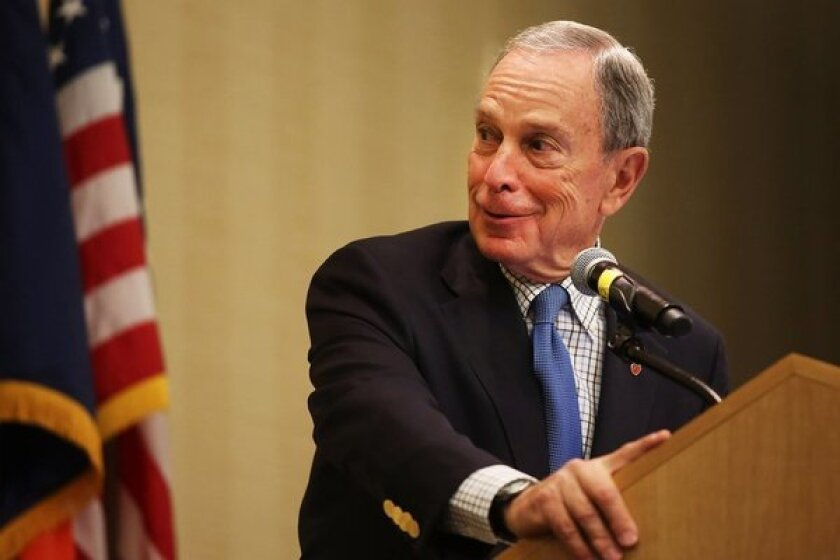 Former New York Mayor Michael R. Bloomberg was a late entrant into the Democratic presidential race.