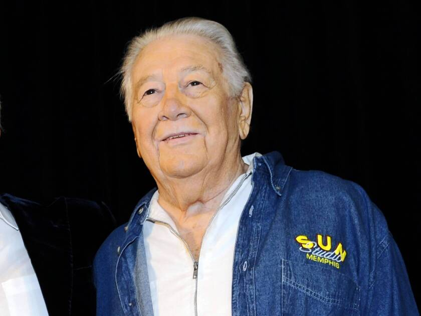 """""""Cowboy"""" Jack Clement appears at the Country Music Hall of Fame in Nashville. He was to be inducted into the Hall of Fame later this year with Bobby Bare and Kenny Rogers."""