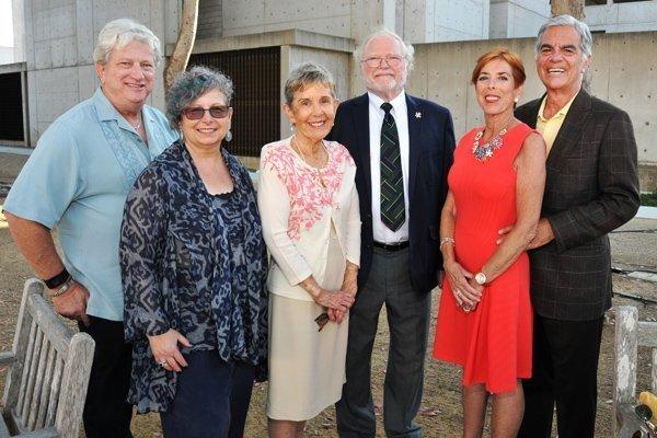 Alan Greenberge, Sharon Gorevitz, Rev. Susan Astarita, John Chalmers, Susan and Robert deRose (sponsors)