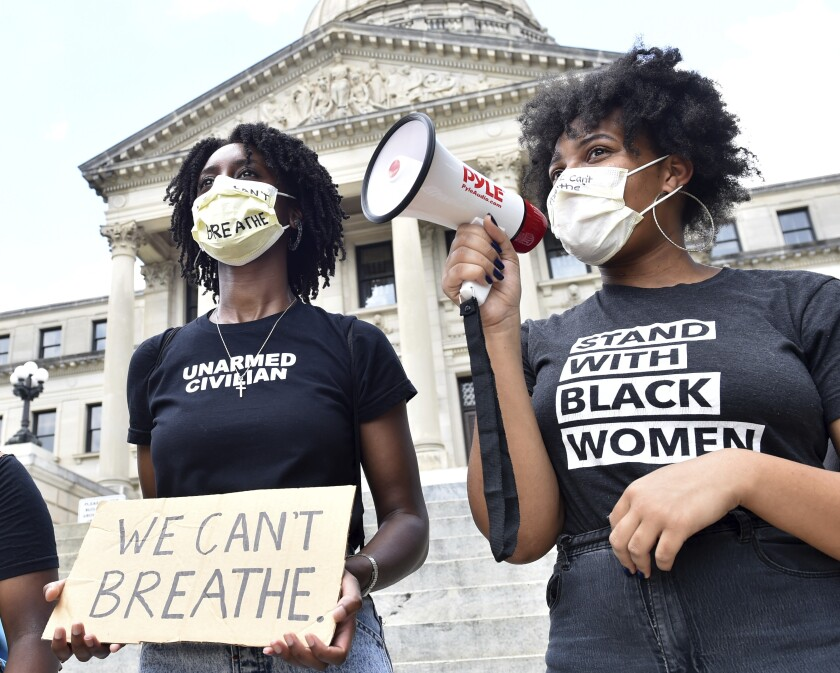 Minneapolis Police Death Protest Mississippi